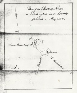 1840 Rectory Map
