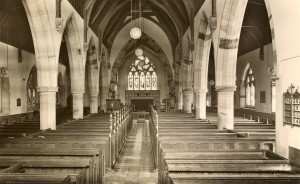B08 Rodington - Rodington Church - Interior - RM & S, Shrewsbury no. 31765.