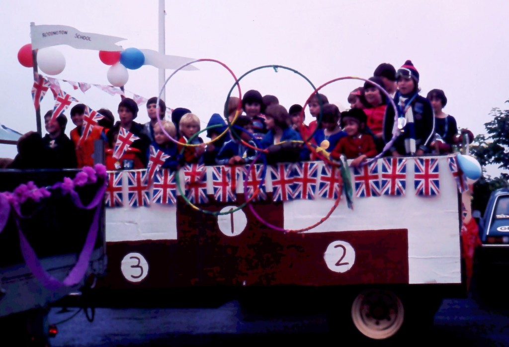 School Carnival Float 1980