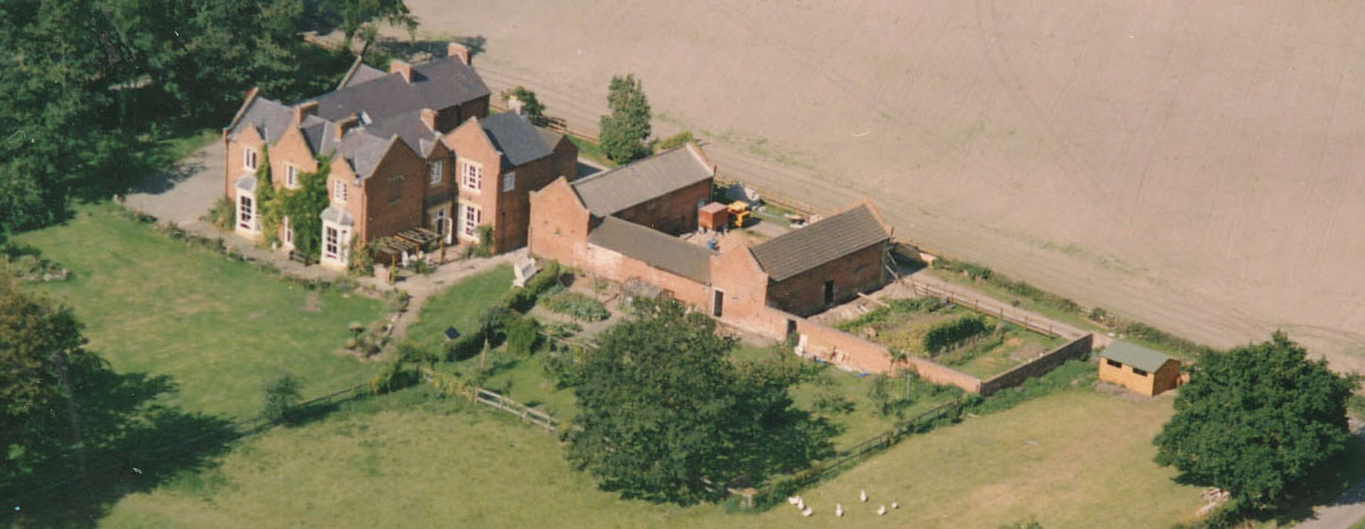 Old Rectory Aerial pic