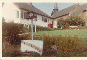 Riverside Bungalow late 1960's - 1970's, known as Mrs Brights (Eric Evans)c